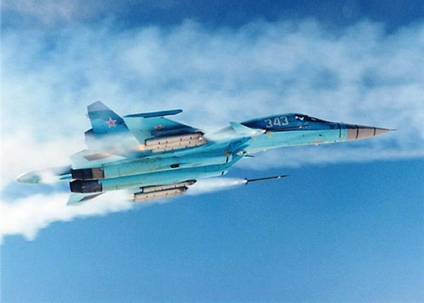 """Sức mạnh đáng sợ của tiêm kích """"Thú mỏ vịt"""" Su-34 Nga ảnh 6"""