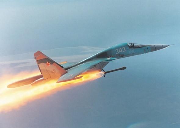 """Sức mạnh đáng sợ của tiêm kích """"Thú mỏ vịt"""" Su-34 Nga ảnh 7"""