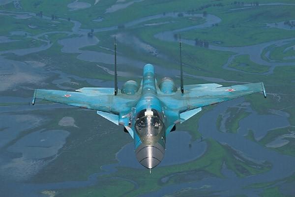 """Sức mạnh đáng sợ của tiêm kích """"Thú mỏ vịt"""" Su-34 Nga ảnh 8"""