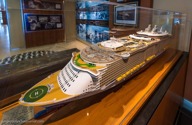 Tàu du lịch lớn nhất hành tinh Allure of the Seas ảnh 1
