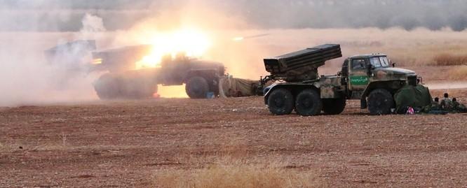Quân đội Syria pháo kích dữ dội, chuẩn bị tấn công lớn ảnh 1