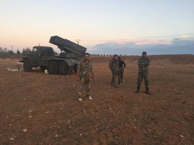 Quân đội Syria pháo kích dữ dội, chuẩn bị tấn công lớn ảnh 2
