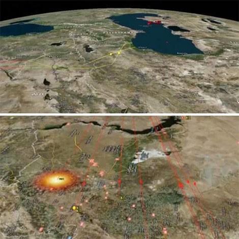 Phương Tây kinh ngạc về tên lửa tầm xa Kalibr của Nga ảnh 1