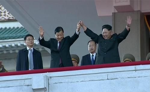 Triều Tiên khoe tên lửa, máy bay không người lái trong lễ duyệt binh ảnh 2