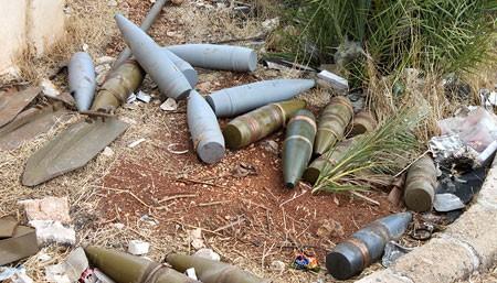 Binh sĩ Syria đã cắm cờ chiến thắng trên thị trấn Al'-Bakhchoy ảnh 2