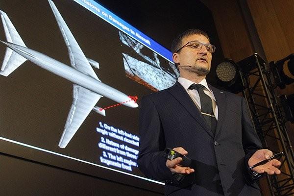 """""""Almaz-Antei"""" công bố video thử nghiệm vụ tai nạn Boeing – MH-17 ảnh 4"""