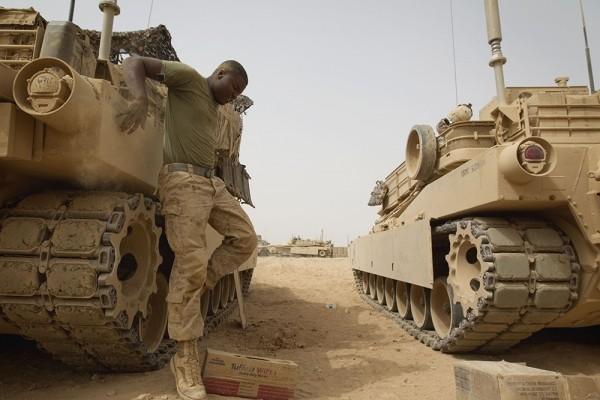 """Mỹ giới thiệu xe tăng """"Abrams"""" với đạn đa chức năng ảnh 11"""