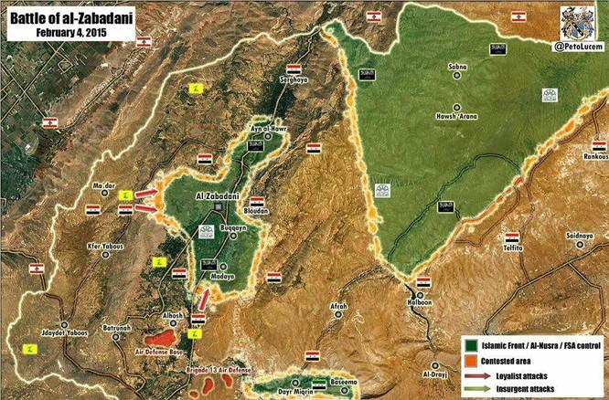 Hezbollah và quân đội Syria quyết chiến với phiến quân ở Zabadani ảnh 1