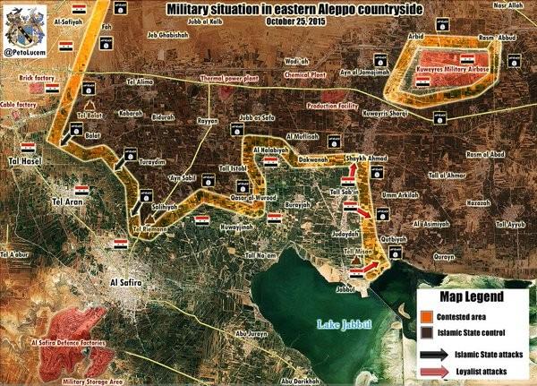 Chùm ảnh: Cuộc chiến ác liệt ở Syria ngày 25.10 ảnh 2