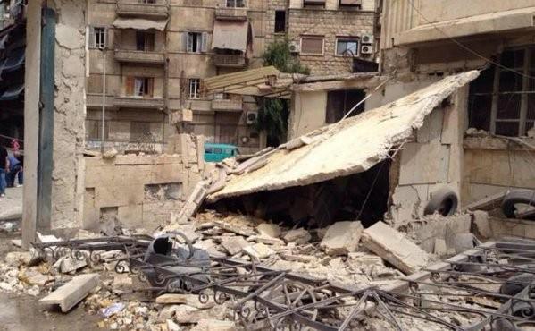 Chùm ảnh: Cuộc chiến ác liệt ở Syria ngày 25.10 ảnh 4