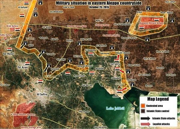 Chùm ảnh: Cuộc chiến ác liệt ở Syria ngày 25.10 ảnh 5