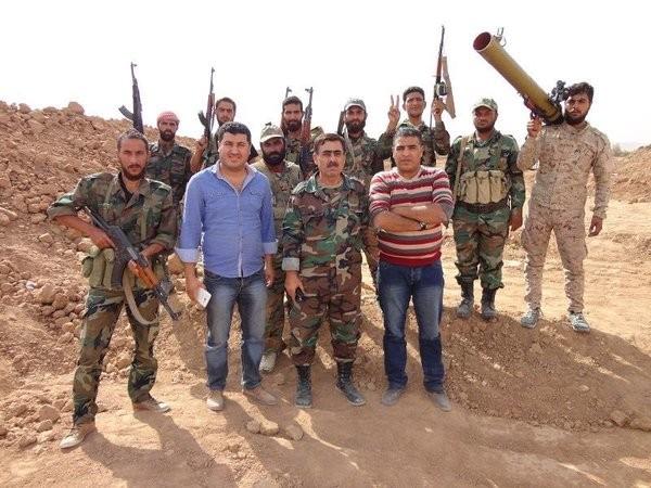 Chùm ảnh: Cuộc chiến ác liệt ở Syria ngày 25.10 ảnh 11
