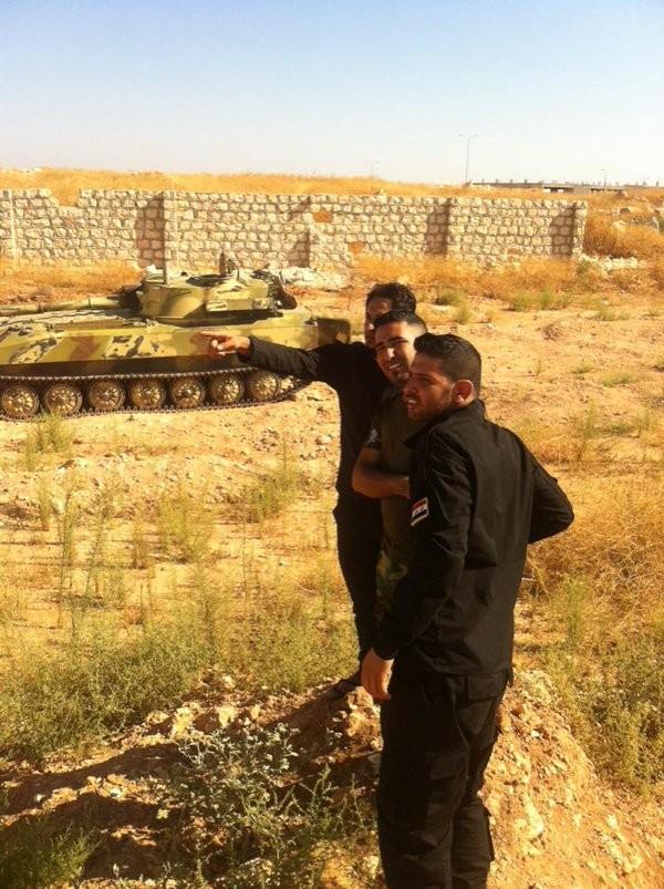Chùm ảnh: Cuộc chiến ác liệt ở Syria ngày 25.10 ảnh 13