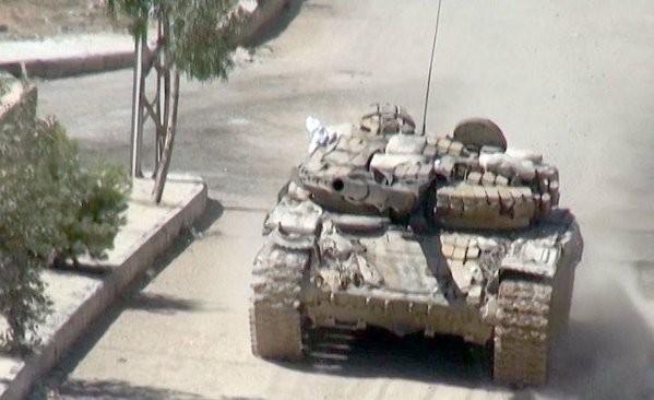 Chùm ảnh: Cuộc chiến ác liệt ở Syria ngày 25.10 ảnh 14