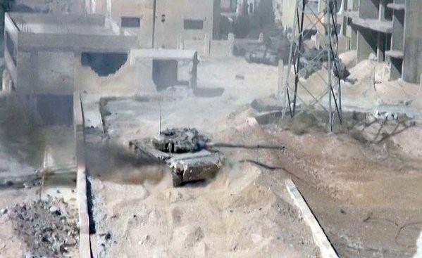 Chùm ảnh: Cuộc chiến ác liệt ở Syria ngày 25.10 ảnh 15