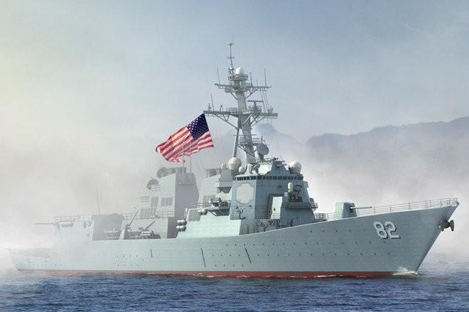 Tàu USS Lassen của Hải quân Mỹ- Ảnh: Naval Today