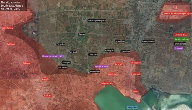 Chiến trận giằng co ác liệt giữa quân đội Syria và chiến binh IS, en - Nursa ảnh 2