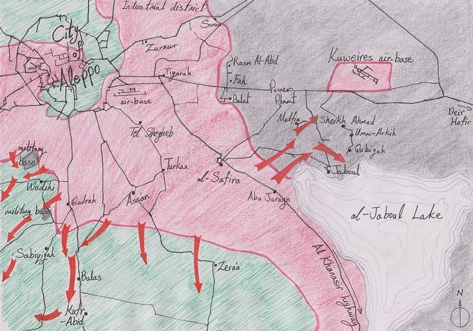 Chiến trận giằng co ác liệt giữa quân đội Syria và chiến binh IS, en - Nursa ảnh 3