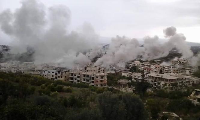 Chiến trận giằng co ác liệt giữa quân đội Syria và chiến binh IS, en - Nursa ảnh 23