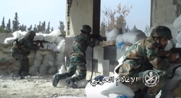 Chiến trận giằng co ác liệt giữa quân đội Syria và chiến binh IS, en - Nursa ảnh 28
