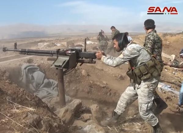 Chiến trận giằng co ác liệt giữa quân đội Syria và chiến binh IS, en - Nursa ảnh 32