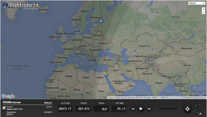 Máy bay Airbus-321 Nga bị phá hủy hoàn toàn, 224 hành khách và phi hành đoàn thiệt mạng ảnh 1