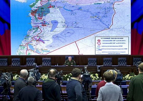 Nga tổng kết 1 tháng không kích chống khủng bố ở Syria ảnh 1