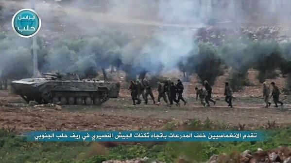 Cuộc chiến phức tạp và đẫm máu giữa khủng bố IS và quân đội Syria ảnh 12