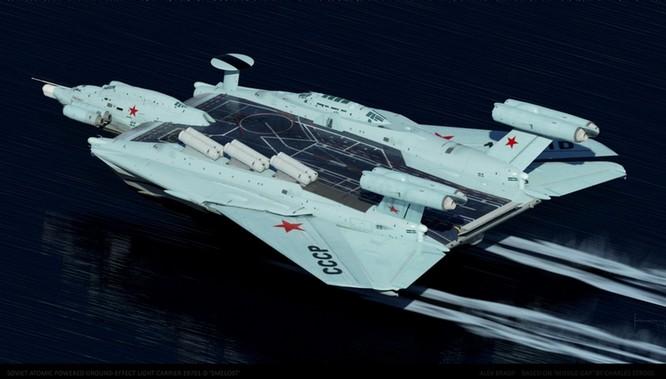Tàu sân bay tấn công Ekranoplan, siêu phẩm công nghệ quân sự Liên Xô ảnh 1