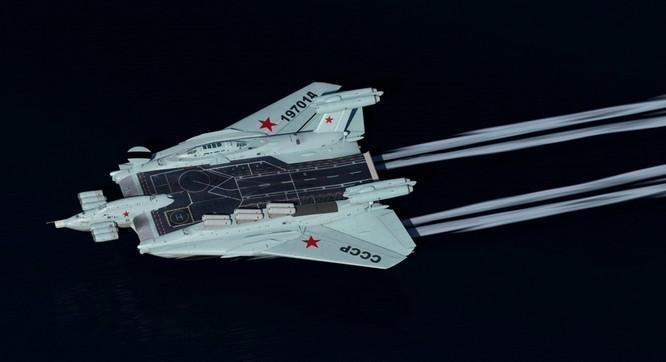 Tàu sân bay tấn công Ekranoplan, siêu phẩm công nghệ quân sự Liên Xô ảnh 2