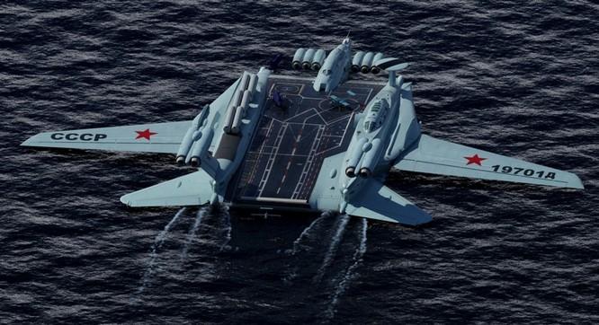 Tàu sân bay tấn công Ekranoplan, siêu phẩm công nghệ quân sự Liên Xô ảnh 3