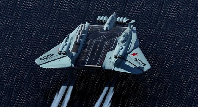 Tàu sân bay tấn công Ekranoplan, siêu phẩm công nghệ quân sự Liên Xô ảnh 5