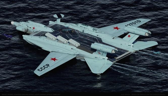 Tàu sân bay tấn công Ekranoplan, siêu phẩm công nghệ quân sự Liên Xô ảnh 6
