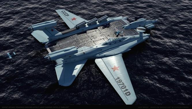 Tàu sân bay tấn công Ekranoplan, siêu phẩm công nghệ quân sự Liên Xô ảnh 7
