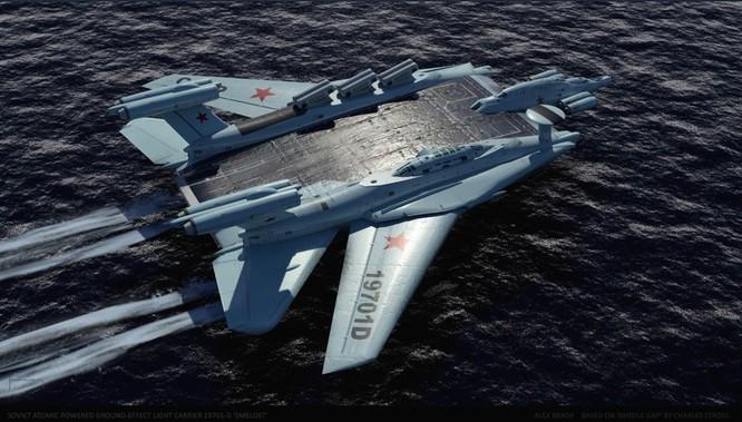 Tàu sân bay tấn công Ekranoplan, siêu phẩm công nghệ quân sự Liên Xô ảnh 8