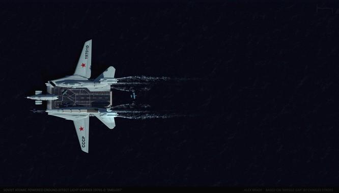 Tàu sân bay tấn công Ekranoplan, siêu phẩm công nghệ quân sự Liên Xô ảnh 9