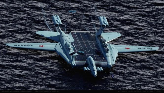 Tàu sân bay tấn công Ekranoplan, siêu phẩm công nghệ quân sự Liên Xô ảnh 10