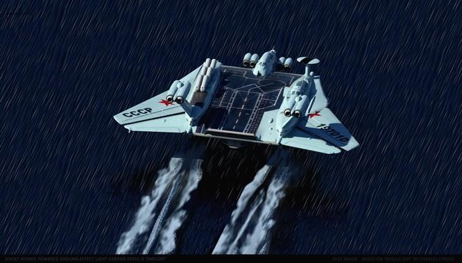 Tàu sân bay tấn công Ekranoplan, siêu phẩm công nghệ quân sự Liên Xô ảnh 11
