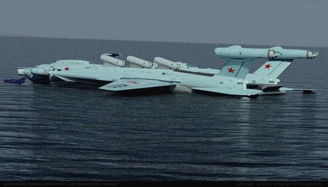 Tàu sân bay tấn công Ekranoplan, siêu phẩm công nghệ quân sự Liên Xô ảnh 12
