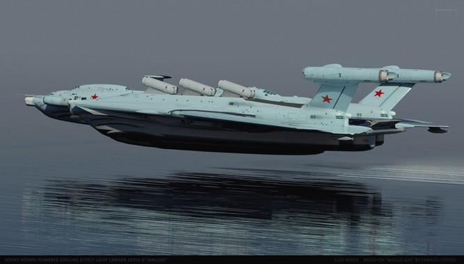 Tàu sân bay tấn công Ekranoplan, siêu phẩm công nghệ quân sự Liên Xô ảnh 13