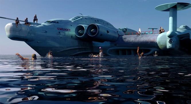 Tàu sân bay tấn công Ekranoplan, siêu phẩm công nghệ quân sự Liên Xô ảnh 14