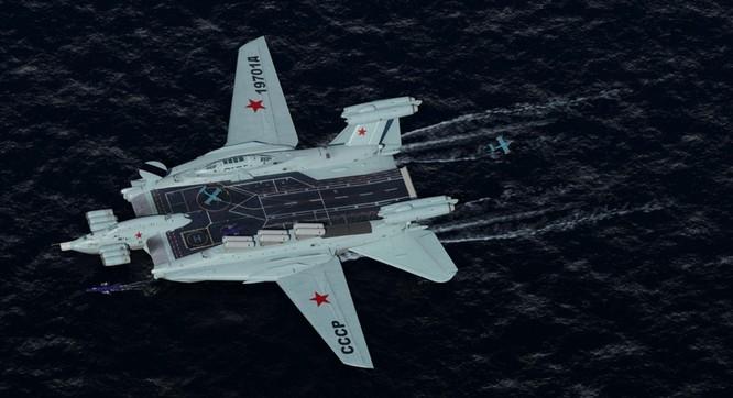 Tàu sân bay tấn công Ekranoplan, siêu phẩm công nghệ quân sự Liên Xô ảnh 15