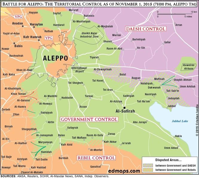 Chiến trường Syria ngày càng khốc liệt, đẫm máu kéo dài ảnh 1