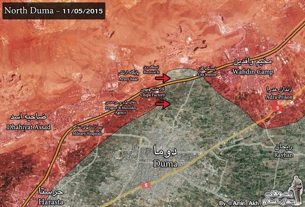 Nga dội lửa ác liệt, quân Syria giải phóng nhiều điểm dân cư ảnh 1