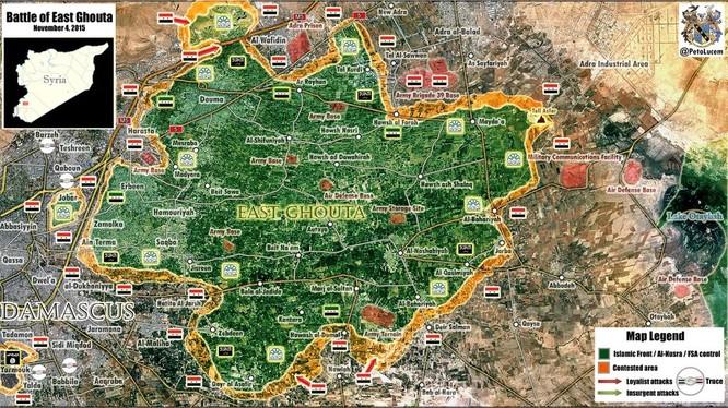 Nga dội lửa ác liệt, quân Syria giải phóng nhiều điểm dân cư ảnh 4