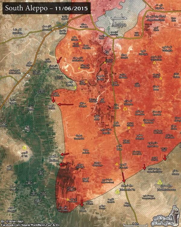 Chảo lửa Aleppo, cuộc chiến khốc liệt và căng thẳng ảnh 1