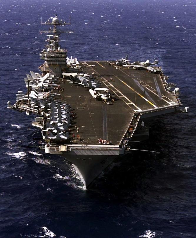 Tại sao tàu sân bay Mỹ là át chủ bài thống trị ảnh 1