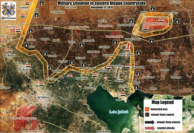 Quân chính phủ Syria huyết chiến giành thế chủ động trên chiến trường ảnh 1