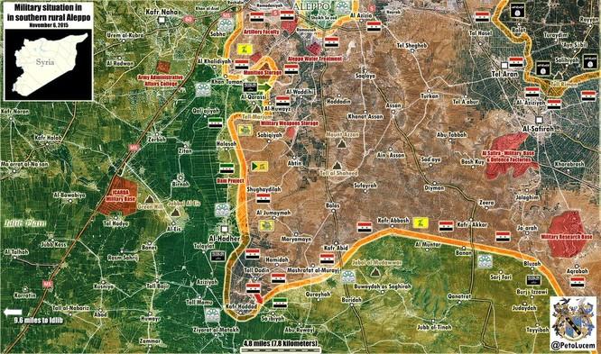 Quân chính phủ Syria huyết chiến giành thế chủ động trên chiến trường ảnh 2