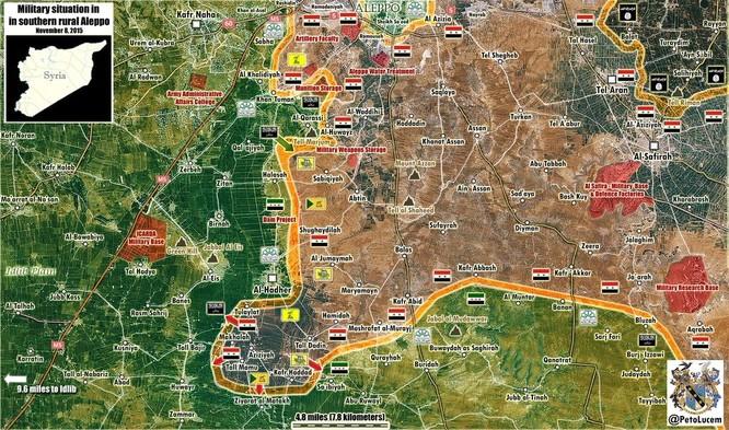 Quân chính phủ Syria huyết chiến giành thế chủ động trên chiến trường ảnh 3
